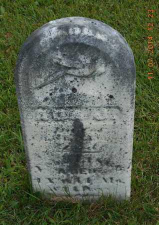 SHEPHARD, ADA J. - Calhoun County, Michigan | ADA J. SHEPHARD - Michigan Gravestone Photos