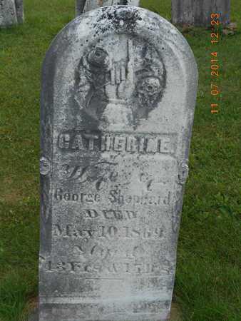 SHEPHARD, CATHERINE - Calhoun County, Michigan | CATHERINE SHEPHARD - Michigan Gravestone Photos