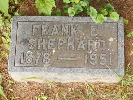 SHEPHARD, FRANK E. - Calhoun County, Michigan | FRANK E. SHEPHARD - Michigan Gravestone Photos