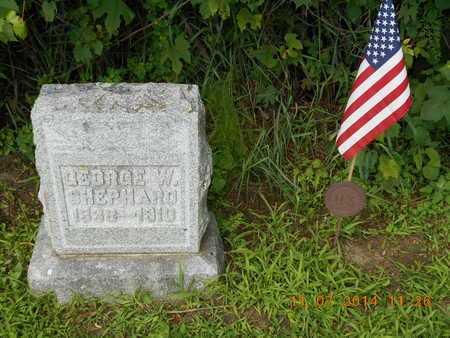 SHEPHARD, GEORGE W. - Calhoun County, Michigan   GEORGE W. SHEPHARD - Michigan Gravestone Photos