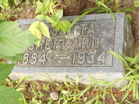 SHEPHARD, ROSETTA - Calhoun County, Michigan   ROSETTA SHEPHARD - Michigan Gravestone Photos