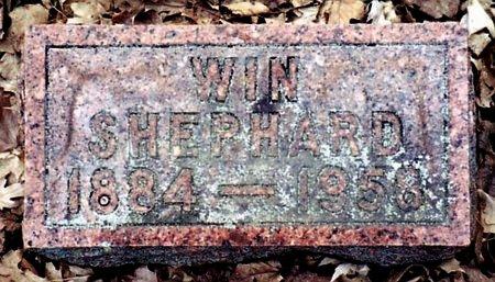 SHEPHARD, WIN - Calhoun County, Michigan | WIN SHEPHARD - Michigan Gravestone Photos