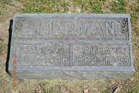 SHERMAN, LAURA C. - Calhoun County, Michigan | LAURA C. SHERMAN - Michigan Gravestone Photos