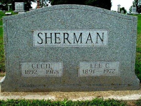 SHERMAN, LEE C. - Calhoun County, Michigan | LEE C. SHERMAN - Michigan Gravestone Photos