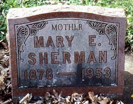 SHERMAN, MARY - Calhoun County, Michigan | MARY SHERMAN - Michigan Gravestone Photos