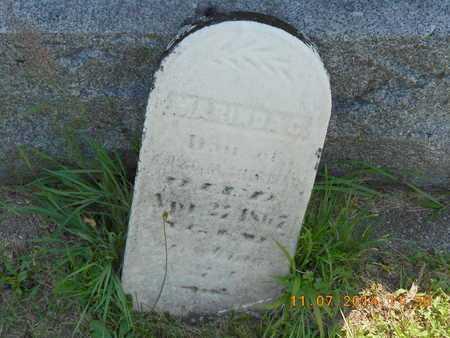 SHERMAN, MARINDA C. - Calhoun County, Michigan | MARINDA C. SHERMAN - Michigan Gravestone Photos
