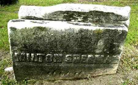 SHERMAN, MILTON - Calhoun County, Michigan   MILTON SHERMAN - Michigan Gravestone Photos