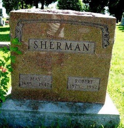SHERMAN, MAY - Calhoun County, Michigan | MAY SHERMAN - Michigan Gravestone Photos