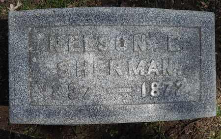 SHERMAN, NELSON E - Calhoun County, Michigan | NELSON E SHERMAN - Michigan Gravestone Photos