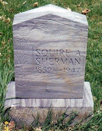 SHERMAN, SQUIRE - Calhoun County, Michigan | SQUIRE SHERMAN - Michigan Gravestone Photos