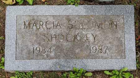 SHOCKLEY, MARCIA - Calhoun County, Michigan   MARCIA SHOCKLEY - Michigan Gravestone Photos