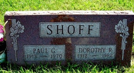 SHOFF, DOROTHY R. - Calhoun County, Michigan | DOROTHY R. SHOFF - Michigan Gravestone Photos