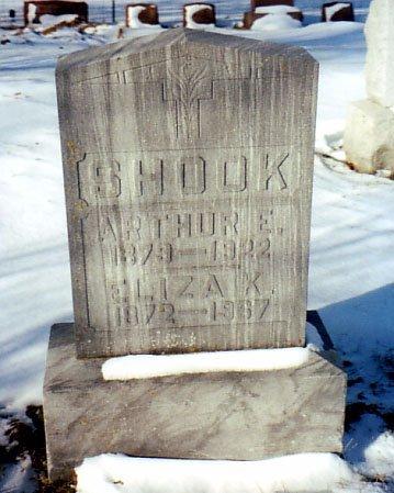 SHOOK, ARTHUR E. - Calhoun County, Michigan | ARTHUR E. SHOOK - Michigan Gravestone Photos