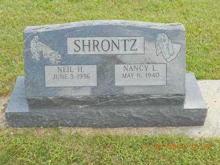 SHRONTZ, NANCY L. - Calhoun County, Michigan | NANCY L. SHRONTZ - Michigan Gravestone Photos