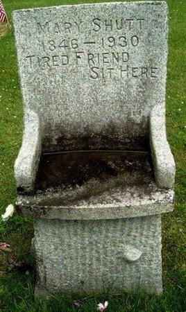 SHUTT, MARY - Calhoun County, Michigan | MARY SHUTT - Michigan Gravestone Photos