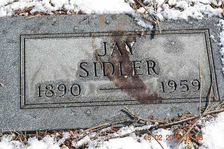 SIDLER, JAY - Calhoun County, Michigan | JAY SIDLER - Michigan Gravestone Photos