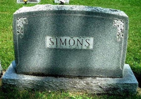 SIMONS, FAMILY MARKER - Calhoun County, Michigan | FAMILY MARKER SIMONS - Michigan Gravestone Photos