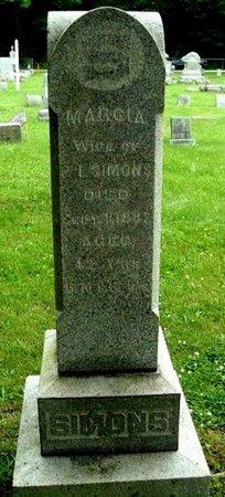 SIMONS, MARCIA - Calhoun County, Michigan | MARCIA SIMONS - Michigan Gravestone Photos