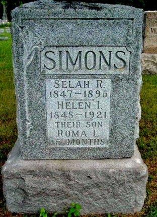 SIMONS, HELEN I - Calhoun County, Michigan | HELEN I SIMONS - Michigan Gravestone Photos