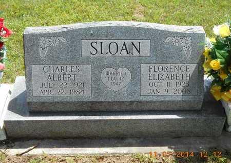 SLOAN, FLORENCE ELIZABETH - Calhoun County, Michigan | FLORENCE ELIZABETH SLOAN - Michigan Gravestone Photos