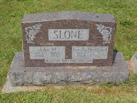 SHEPHARD SLONE, LUCILLE - Calhoun County, Michigan | LUCILLE SHEPHARD SLONE - Michigan Gravestone Photos