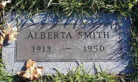 SMITH, ALBERTA - Calhoun County, Michigan | ALBERTA SMITH - Michigan Gravestone Photos
