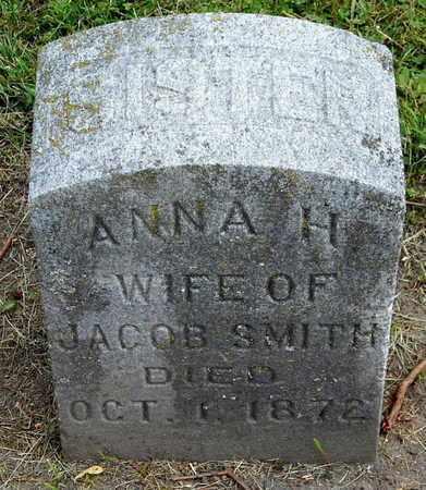 SMITH, ANNA H - Calhoun County, Michigan | ANNA H SMITH - Michigan Gravestone Photos