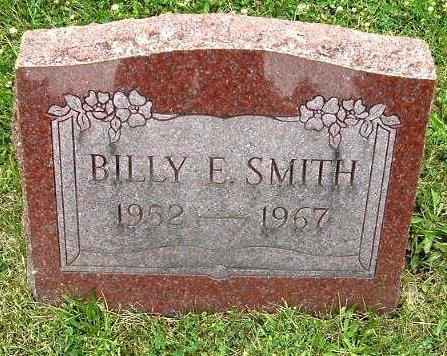 SMITH, BILLY E - Calhoun County, Michigan | BILLY E SMITH - Michigan Gravestone Photos