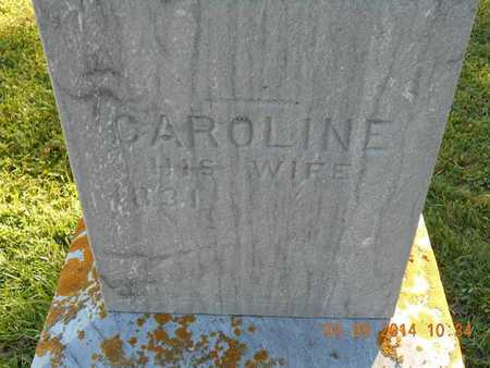 SMITH, CAROLINE - Calhoun County, Michigan | CAROLINE SMITH - Michigan Gravestone Photos