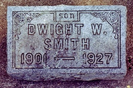 SMITH, DWIGHT W. - Calhoun County, Michigan | DWIGHT W. SMITH - Michigan Gravestone Photos