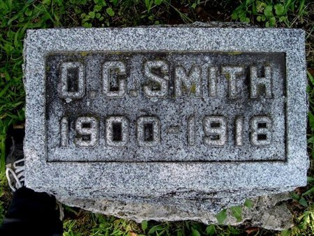 SMITH, D. C. - Calhoun County, Michigan   D. C. SMITH - Michigan Gravestone Photos