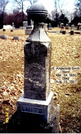SMITH, E. ANDERSON - Calhoun County, Michigan | E. ANDERSON SMITH - Michigan Gravestone Photos