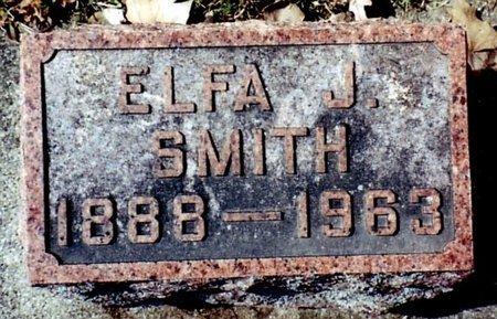 SMITH, ELFA - Calhoun County, Michigan   ELFA SMITH - Michigan Gravestone Photos