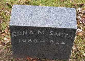 SMITH, EDNA M - Calhoun County, Michigan | EDNA M SMITH - Michigan Gravestone Photos