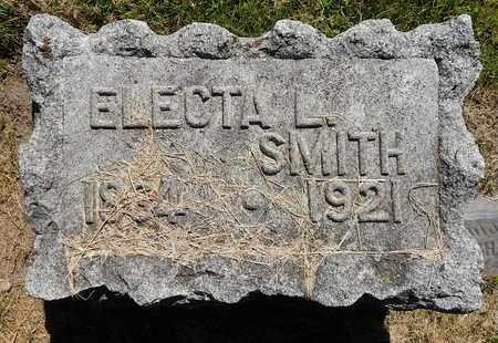 SMITH, ELECTA L - Calhoun County, Michigan | ELECTA L SMITH - Michigan Gravestone Photos