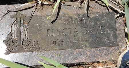 SMITH, ELECTA - Calhoun County, Michigan   ELECTA SMITH - Michigan Gravestone Photos