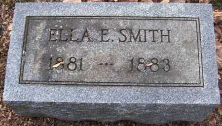 SMITH, ELLA E - Calhoun County, Michigan | ELLA E SMITH - Michigan Gravestone Photos