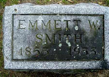 SMITH, EMMETT W - Calhoun County, Michigan | EMMETT W SMITH - Michigan Gravestone Photos
