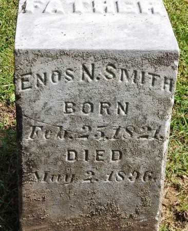 SMITH, ENOS N - Calhoun County, Michigan | ENOS N SMITH - Michigan Gravestone Photos