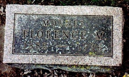 SMITH, FLORENCE M. - Calhoun County, Michigan   FLORENCE M. SMITH - Michigan Gravestone Photos