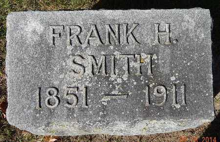SMITH, FRANK H - Calhoun County, Michigan | FRANK H SMITH - Michigan Gravestone Photos