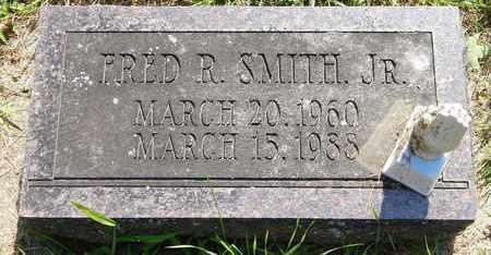 SMITH, FRED R., JR - Calhoun County, Michigan   FRED R., JR SMITH - Michigan Gravestone Photos