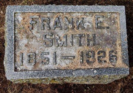SMITH, FRANK E - Calhoun County, Michigan | FRANK E SMITH - Michigan Gravestone Photos