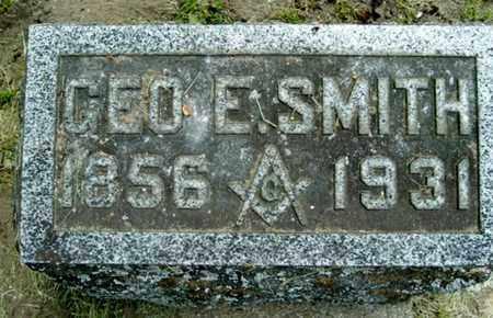 SMITH, GEORGE E - Calhoun County, Michigan | GEORGE E SMITH - Michigan Gravestone Photos