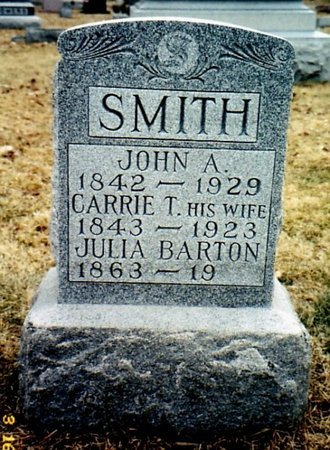 SMITH, CARRIE T. - Calhoun County, Michigan | CARRIE T. SMITH - Michigan Gravestone Photos