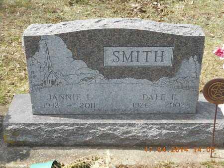 SMITH, JANNIE L. - Calhoun County, Michigan | JANNIE L. SMITH - Michigan Gravestone Photos