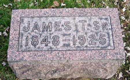 SMITH, JAMES T. SR. - Calhoun County, Michigan | JAMES T. SR. SMITH - Michigan Gravestone Photos