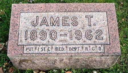 SMITH, JAMES T - Calhoun County, Michigan | JAMES T SMITH - Michigan Gravestone Photos
