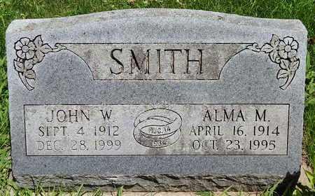 SMITH, ALMA M - Calhoun County, Michigan   ALMA M SMITH - Michigan Gravestone Photos