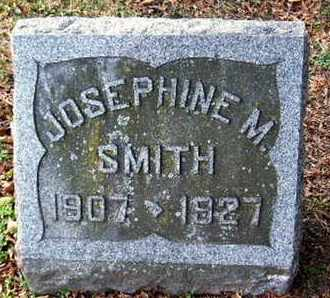 SMITH, JOSEPHINE M - Calhoun County, Michigan | JOSEPHINE M SMITH - Michigan Gravestone Photos